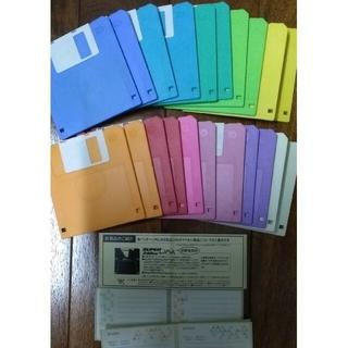 マクセル(maxell)のmaxell マクセル フロッピーディスク 2HD 21枚 他3枚 他ケース(その他)