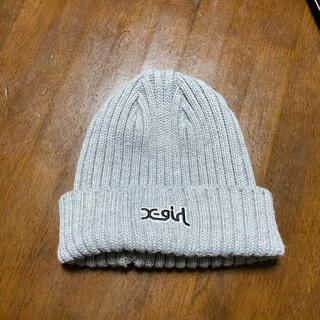 X-girl - X-girl エックスガール RIB KNIT CAP ニット帽