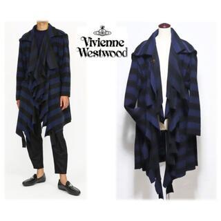 Vivienne Westwood - 9.9万円新品【ヴィヴィアンMAN】伊製MAPEL社ビーバー仕上げコート48 L