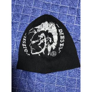 ディーゼル(DIESEL)の美品ディーゼルニット帽(ニット帽/ビーニー)