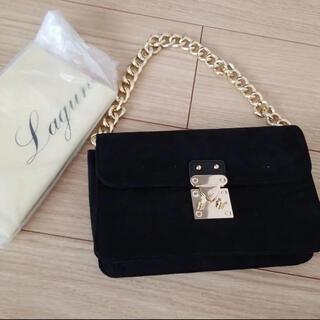 ラグナムーン(LagunaMoon)の新品☆ラグナムーンチェーンバッグ定価13000円(ショルダーバッグ)