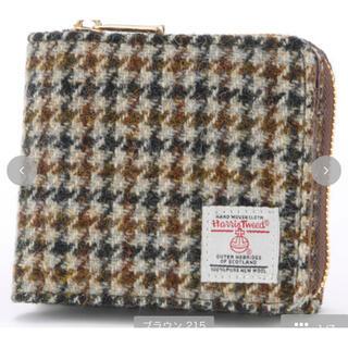 新品 プチプラのあや しまむら ハリスツイード 財布(財布)