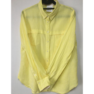 フェリシモ(FELISSIMO)の黄色 シャツ(シャツ/ブラウス(長袖/七分))