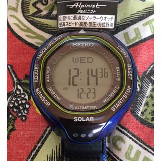 セイコー(SEIKO)の限定ウィンターデザイン セイコー SBEB041 おまけ付(腕時計(デジタル))