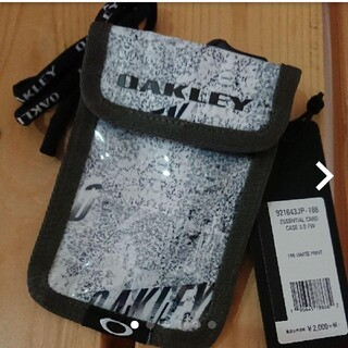 オークリー(Oakley)の[オークリー] カードケース /パスケース/小銭ケース付き(名刺入れ/定期入れ)