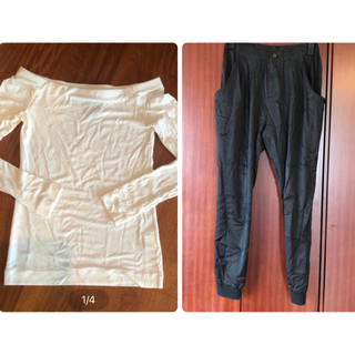 DOUBLE STANDARD CLOTHING - パンツ ダブスタ 黒 レディース ダブルスタンダードクロージング