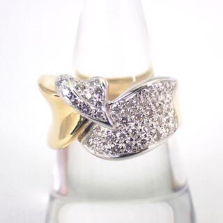 K18 ダイヤモンド リング 17号[g324-7](リング(指輪))