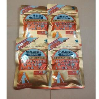 コバヤシセイヤク(小林製薬)の小林製薬 コエンザイムQ10 αーリポ酸Lーカルニチン30日分×4袋(ダイエット食品)
