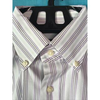 イルファーロバイルチアーノバルベラ(ILFARO by LUCIANO BARBERA)の美品イルファーロBDストライプシャツL(シャツ)