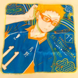タカラトミーアーツ(T-ARTS)のハイキュー/ガチャガチャ/ポートレートミニタオル/月島蛍(その他)