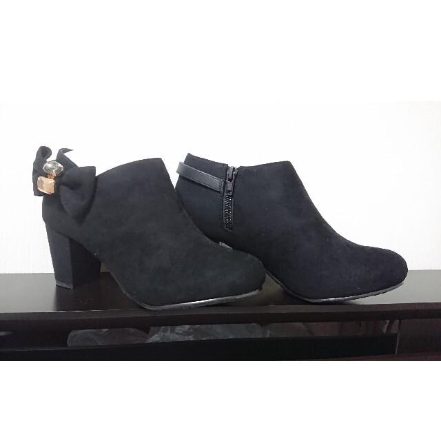JELLY BEANS(ジェリービーンズ)の【新品未使用品】ジェリービーンズ  スエードショートブーツ レディースの靴/シューズ(ブーツ)の商品写真