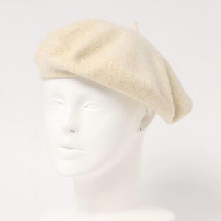 アニエスベー(agnes b.)の【週末限定SALE!】 agnes b. ベレー帽(オフホワイト)(ハンチング/ベレー帽)