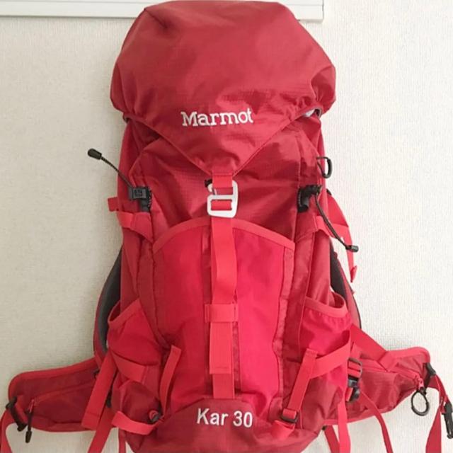 MARMOT(マーモット)の新品! マーモット バックパック 30 カーディナルレッド メンズのバッグ(バッグパック/リュック)の商品写真
