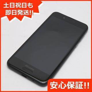アクオス(AQUOS)の美品 SH-01K ブラック 本体 白ロム (スマートフォン本体)