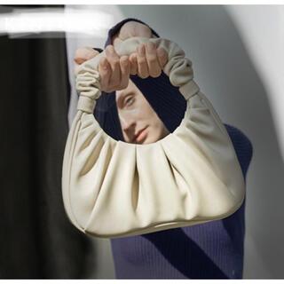 ディーホリック(dholic)のハンドルギャザーバック アイボリー 白 レディース お洒落 海外ファッション(ハンドバッグ)