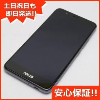 エイスース(ASUS)の美品 SIMフリー zenfone 3 Max ZC520TL グレー (スマートフォン本体)