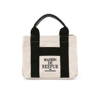 メゾンドリーファー(Maison de Reefur)の完売 メゾンドリーファー キャンバス トートバッグ S(トートバッグ)