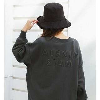 ALEXIA STAM - アリシアスタン バックロゴスウェット
