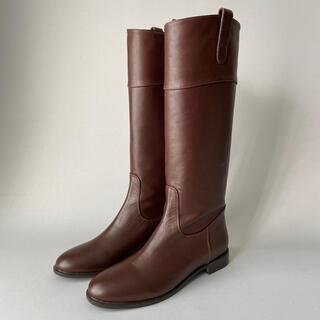 ビューティアンドユースユナイテッドアローズ(BEAUTY&YOUTH UNITED ARROWS)の定価約¥3万 BEAUTY & YOUTH ロングブーツ ブラウン(ブーツ)