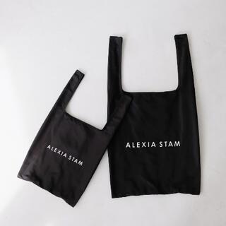 ALEXIA STAM - ALEXIA STAM エコバッグ 黒Sサイズのみ