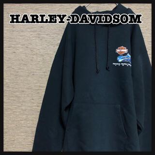ハーレーダビッドソン(Harley Davidson)の【ハーレーダビッドソン】パーカー ハワイ デカロゴ バックプリント 裏起毛 17(パーカー)