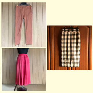 イッカ(ikka)のスカート とパンツ3枚(ロングスカート)
