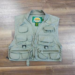 コロンビア(Columbia)の子供服 フィッシング ベスト USA ヴィンテージ 古着 130〜140相当 (ジャケット/上着)