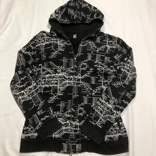 グラニフ(Design Tshirts Store graniph)のグラニフ デザインパーカー メンズ L(パーカー)