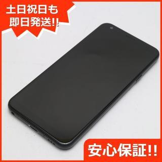 LG Electronics - 美品 L-03K ブラック 本体 白ロム