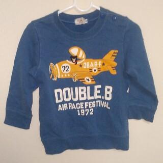 ダブルビー(DOUBLE.B)の【90サイズ  】  DOUBLE_B ミキハウス トレーナー 長袖 古着キッズ(トレーナー)