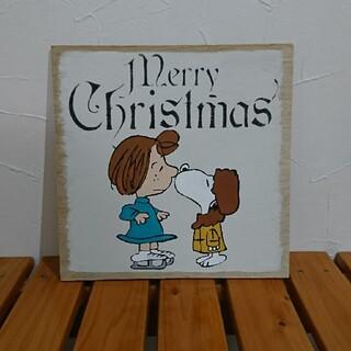 スヌーピー(SNOOPY)のスヌーピー ペッパーミント クリスマス インテリアプレート(その他)