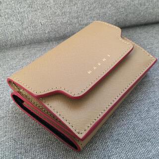 マルニ(Marni)の【高島屋購入】MARNI マルニ 財布 三つ折り ミニ財布(財布)