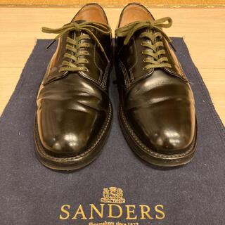 サンダース(SANDERS)のSANDERS plain vanp gibson GB6 靴底補修済み(ドレス/ビジネス)