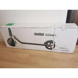 新品未使用 セグウェイ 電動キックボード スクーター(スケートボード)