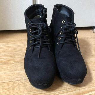 ナイスクラップ(NICE CLAUP)のショートブーツ(ブーツ)