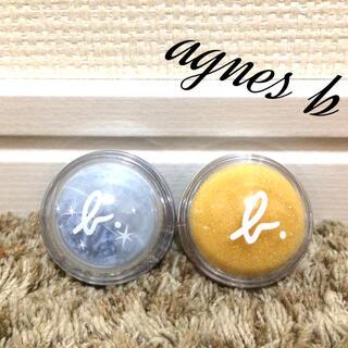 アニエスベー(agnes b.)の【美品】agnesb♥️アニエスベー 化粧品 コスメ まとめ売り 計2点(アイシャドウ)