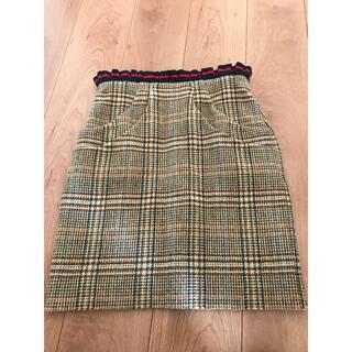 バーニーズニューヨーク(BARNEYS NEW YORK)のharvey faircloth ハーヴェイフェアクロス スカート(ミニスカート)