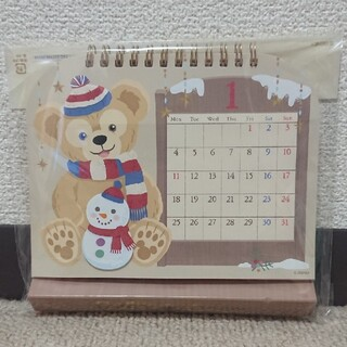 ダッフィー(ダッフィー)のダッフィー 卓上カレンダー 2021 ディズニーシー(カレンダー/スケジュール)