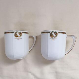 ジバンシィ(GIVENCHY)のGIVENCHY ジバンシィ ティーカップ 2脚 セット(食器)