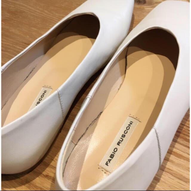 FABIO RUSCONI(ファビオルスコーニ)の値下げしました!FABIO RUSCONI フラットシューズ レディースの靴/シューズ(ハイヒール/パンプス)の商品写真