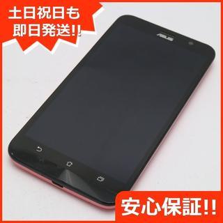 エイスース(ASUS)の良品中古 SIMフリー ZenFone Go ZB551KL ピンク (スマートフォン本体)