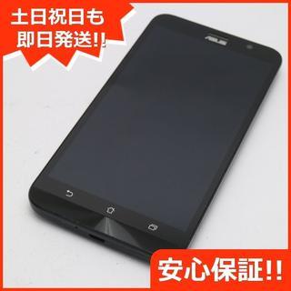 エイスース(ASUS)の美品 SIMフリー ZenFone Go ZB551KL ブラック (スマートフォン本体)