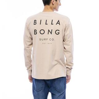 ビラボン(billabong)のビラボン ロングスリーブ ロンT ベージュ(Tシャツ/カットソー(七分/長袖))