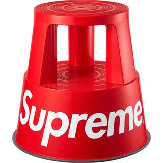シュプリーム(Supreme)のSupreme/Wedo Step Stool 赤 スツールステップ踏み台(スツール)