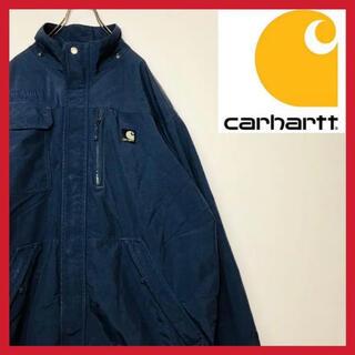 カーハート(carhartt)のカーハート 厚手ナイロンジャケット 企業ロゴ 刺繍 メッシュ アウター(ナイロンジャケット)