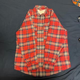 FEAR OF GOD  チェックコットンフランネル シャツジャケット