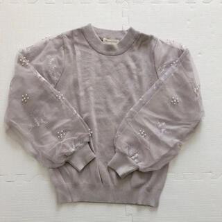 マジェスティックレゴン(MAJESTIC LEGON)のMAJESTIC LEGON 刺繍ニット セーター(ニット/セーター)