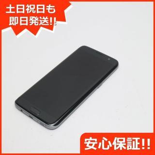 ギャラクシー(Galaxy)の新品同様 au SCV33 Galaxy S7 edge ブラック (スマートフォン本体)