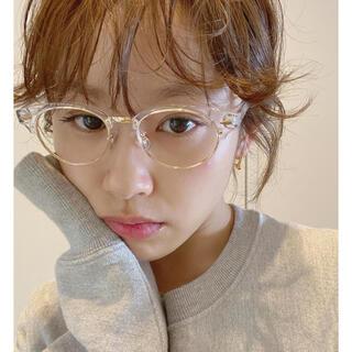 スナイデル(snidel)のMEME clear cat sunglasses(サングラス/メガネ)