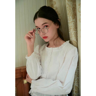 スナイデル(snidel)のMEME clear gray sunglasses(サングラス/メガネ)